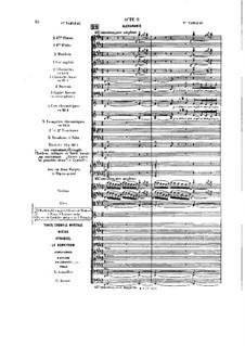 Opera: Act II, tableau I by Jules Massenet