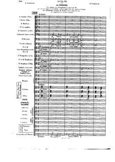 Opera: Act III, tableau I (early version) by Jules Massenet