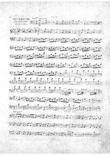 Le concert à la cour: parte violoncelo by Daniel Auber