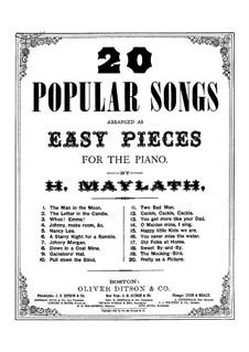 Twenty Popular Songs: versão para piano by Henry Maylath