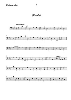 Trio Sonata No.5, WK 121: Movimento II - parte em violoncelo by Carl Friedrich Abel