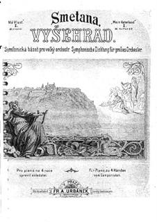Vyšehrad, T.110: Partitura piano by Bedřich Smetana