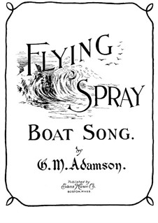 Flying Spray: Flying Spray by G. M. Adamson