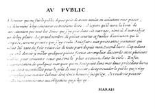 Pieces for Viola: Book III – Viola Part by Marin Marais