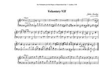 Ten Voluntaries for Organ (or Harpsichord), Op.5: Voluntary No.7 in G Minor by John Stanley