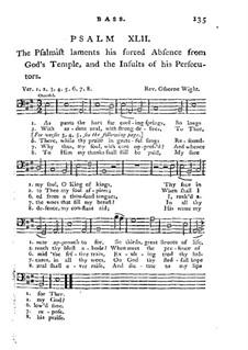 Improved Psalmody in Three Parts, No.42-75 : parte baixo by Georg Friedrich Händel, John Stafford Smith, Philip Hayes, Samuel Webbe, John Wall Callcott, William de Chair Tattersall