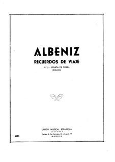 Recuerdos de viaje: No.5 Puerta de Tierra by Isaac Albéniz