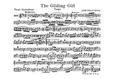 The Gliding Girl. Tango: tenor saxofone parte by John Philip Sousa