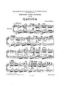 Ancient Suite No.3: gavota by Isaac Albéniz