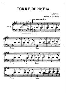Doce piezas características, Op.92: No.12 Torre Bermeja by Isaac Albéniz