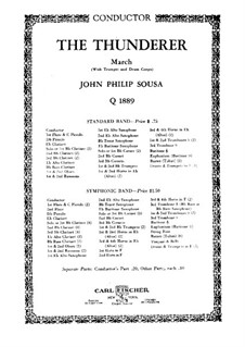 Thunderer: Direction by John Philip Sousa
