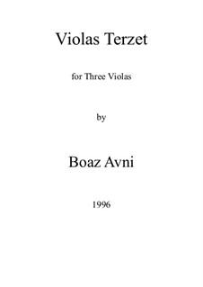 Violas Terzet: Violas Terzet by Boaz Avni