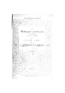 La montagne enchantée: Partitura Piano-vocal by Andre Messager, Xavier Leroux