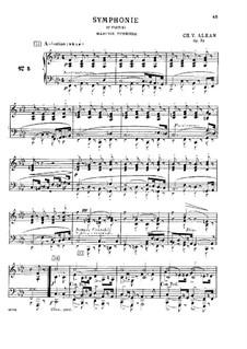 Douze études dans tous les tons mineurs (Twelve Etudes in All the Minor Keys), Op.39: Estudo No.5 by Charles-Valentin Alkan
