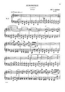 Douze études dans tous les tons mineurs (Twelve Etudes in All the Minor Keys), Op.39: estudo No.7 by Charles-Valentin Alkan