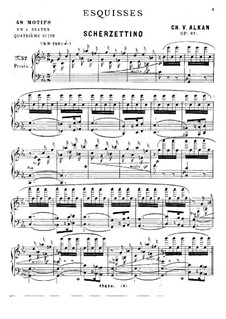 Sketches for Piano, Op.63: No.37-48 by Charles-Valentin Alkan