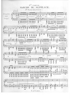 Symphonie fantastique (Fantastic Symphony), H.48 Op.14: Movement IV, for piano by Hector Berlioz