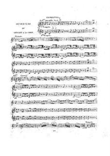 Le concert à la cour: parte trompeta by Daniel Auber