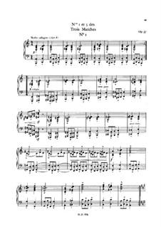 Trois marches quasi da cavalleria (Three Marches for Piano), Op.37: Marsh No.1 by Charles-Valentin Alkan
