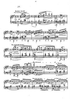 No.4 Les sons et les parfums tournent dans l'air du soir: Para Piano by Claude Debussy