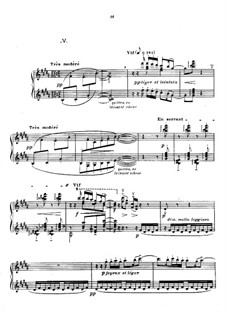 No.5 Les collines d'Anacapri: Para Piano by Claude Debussy
