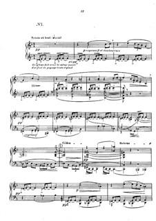 No.6 Des pas sur la neige: Para Piano by Claude Debussy