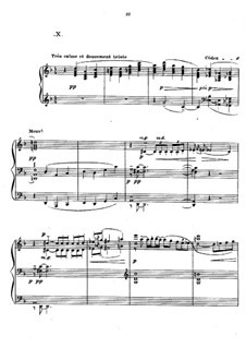Preludes, L.123: No.10 Canope by Claude Debussy