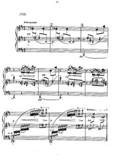 Preludes, L.123: No.8 Ondine  by Claude Debussy