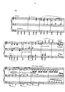 Preludes, L.123: No.9 Hommage à S. Pickwick Esq. P.P.M.P.C. by Claude Debussy