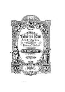 Sechs Lieder ohne Worte: set completo by Georges Bizet