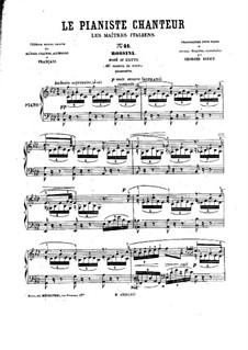 Le pianiste chanteur: No.41-50 by Georges Bizet
