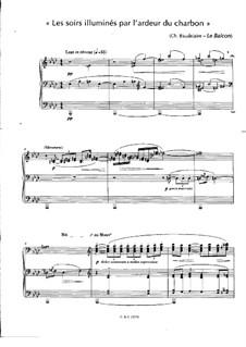 Les soirs illuminés par l'ardeur du charbon: Les soirs illuminés par l'ardeur du charbon by Claude Debussy