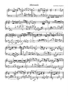Suite in D Minor: Allemande by Jean-Henri d'Anglebert
