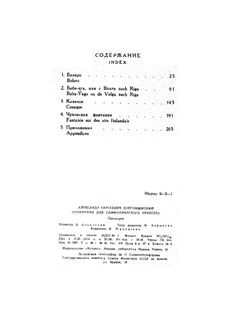 Baba-Yaga: partitura completa by Alexander Dargomyzhsky