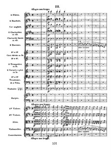 Simphony in D Minor, Op.48: movimento III by César Franck