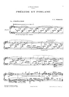 Prelude and Furlana: Prelude and Furlana by Pierre-Octave Ferroud