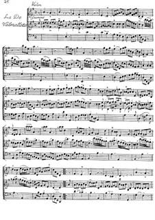 La de Valmallette for Violin and Harpsichord: La de Valmallette for Violin and Harpsichord by Jacques Duphly