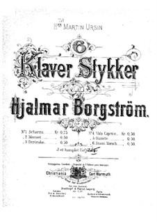 Six Pieces, Op.3: Six Pieces by Hjalmar Borgstrøm