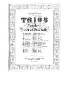 Piano Trio No.1 in B Flat Major, Op.27: Piano Trio No.1 in B Flat Major by Bernhard Molique