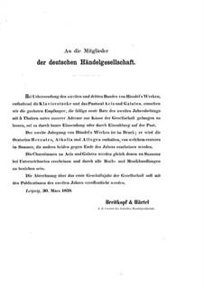 Keyboard Works: Keyboard Works by Georg Friedrich Händel