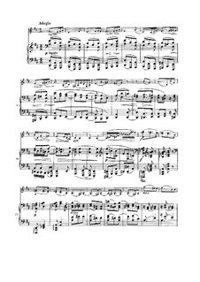 Sonata for Violin and Piano No.3 in D Minor, Op.108: movimento II by Johannes Brahms