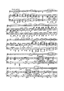 Sonata for Violin and Piano No.3 in D Minor, Op.108: Movimento IV by Johannes Brahms