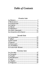 Pieces for Harpsichord: livro I by Jean-François Dandrieu