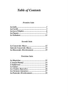 Pieces for Harpsichord: livro II by Jean-François Dandrieu