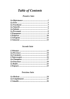 Pieces for Harpsichord: book III by Jean-François Dandrieu