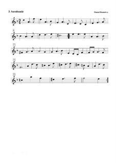 Suite No.2 in F Major: No.3 Sarabande by Daniel Demoivre