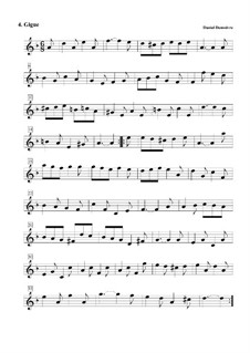Suite No.2 in F Major: No.4 Jigue by Daniel Demoivre