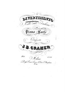 Divertissement in Italian Style: Divertissement in Italian Style by Johann Baptist Cramer
