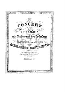 Concerto for Piano and Orchestra in D Minor, Op.137: Movimento I. Arranjos para piano by Alexander Dreyschock
