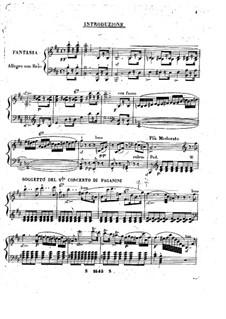 Fantaisie à la Paganini: movimento II by Ignaz Moscheles
